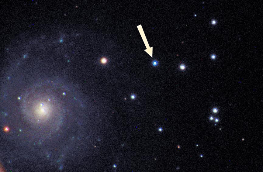 Supernova 2002ap in NGC 628